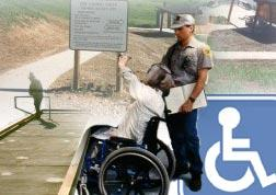 Crossing the Barriers wheelchair access to recreational opportunities