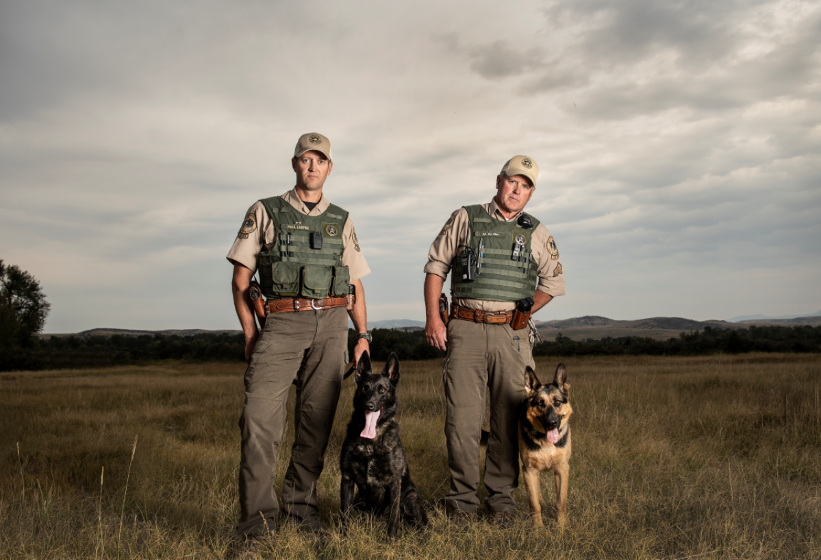 FWP Wardens and K9 companions