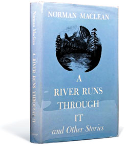 The cover of the book A River Runs Through It.