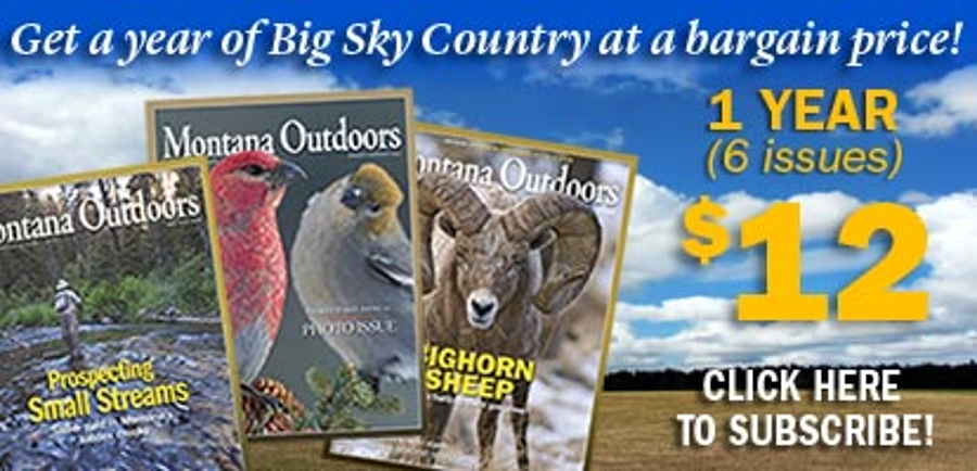 Subscription Banner - Get a year of Big Sky Country at a bargain price!