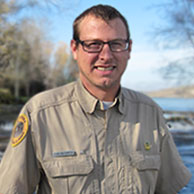 Photo of Park Manager, Clark Carlson-Thompson